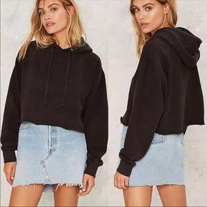 Jolie Black thick hoodie